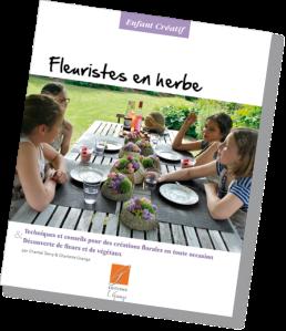 livre art floral enfant adultes modele pas a pas, fiche pédagogique végétaux